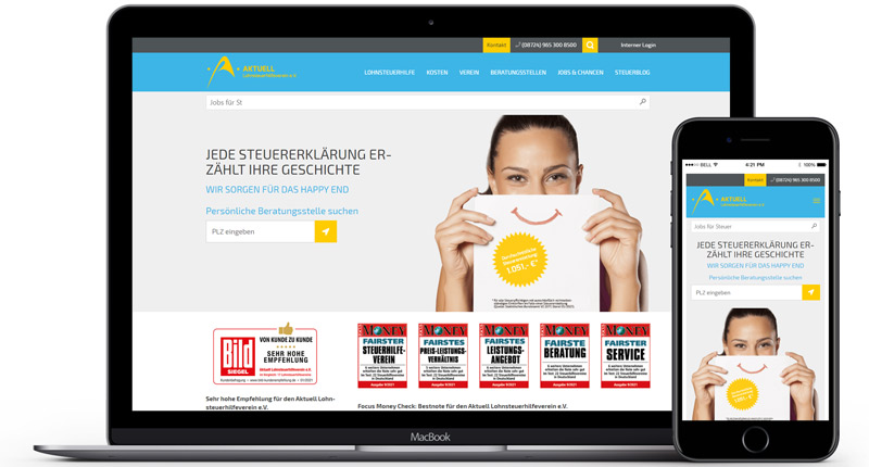 Aktuell Verein bei Lehrmann Internetservice